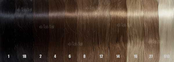 How to Choose Hair Extensions Color