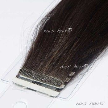 Tape Hair Extensions #1B (Off Black)