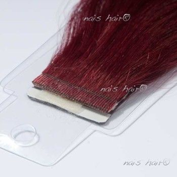 Tape Hair Extensions #530 (Plum Red)