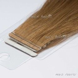 Tape Hair Extensions #8 (Light Brown)