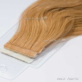 Tape Hair Extensions Wavy #27(Strawberry Blonde)