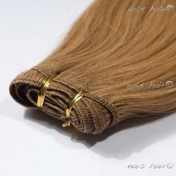 Hair Weft Extensions #16 (Golden Blonde)