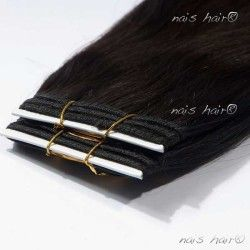 Hair Weft Extensions #1B (Off Black)