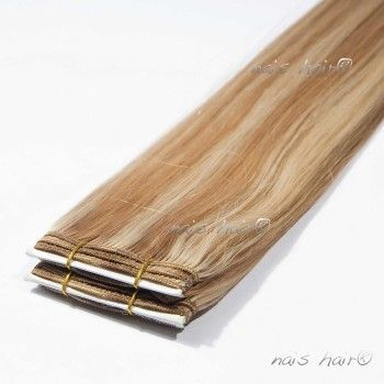 Hair Weft Extensions #8/613 (Mixed Colors)