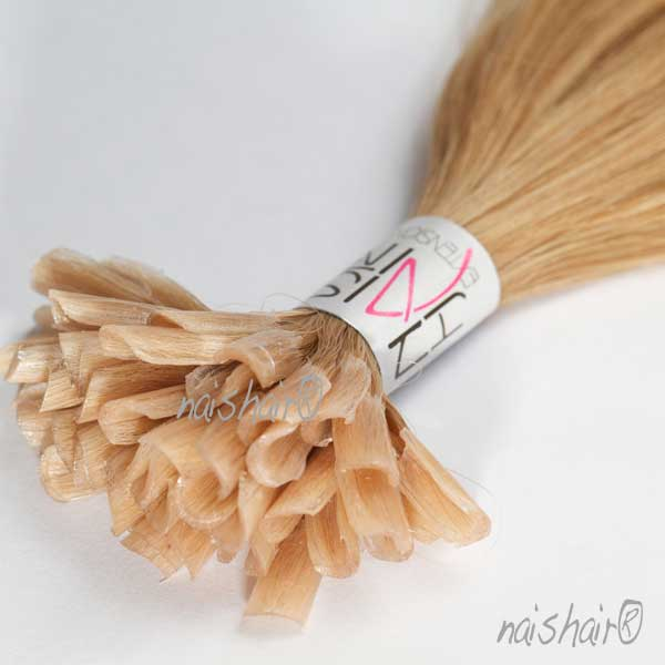 Keratin Hair Extensions #16 (Golden Blonde)